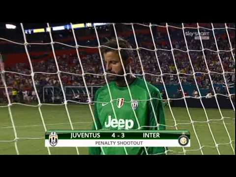 Juventus-Inter Guinness Int. Champions Cup ( Finale Rigori 8-9 )