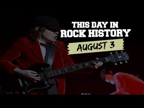 AC/DC Takes 'Highway to Hell,' Yes Debuts - August 3 in Rock History