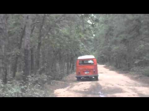 1970 VW bus ride. Adventure thru the pinelands of NJ.