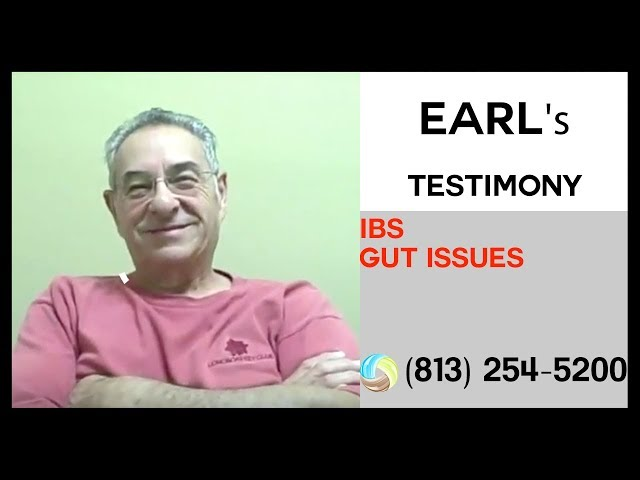 Earl's Success Story with IBS