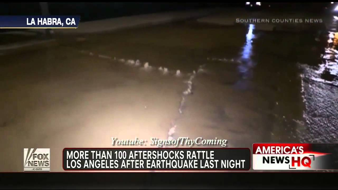 earthquake 5 1 earthquake rocks los angeles california followed by a 4 5 aftershock mar 29 2014 youtube