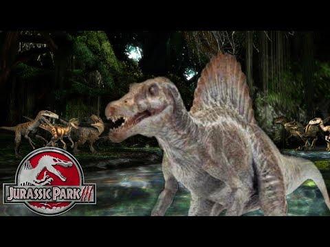 The Truth about the Deleted Spinosaurus vs Velociraptors Scene - Jurassic Park 3 Deleted Scenes