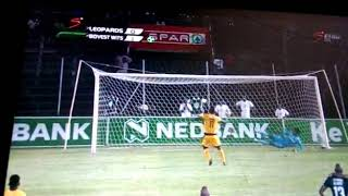 Black Leopards vs Bidvest Wits Nedbank Cup, All penalty goals 18/02/2019