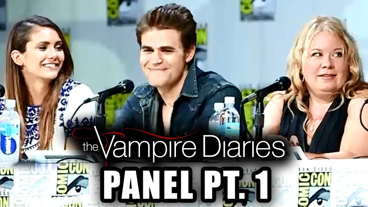 The Vampire Diaries - Season 6 - Full Comic-Con Panel