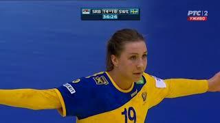 Serbia vs Sweden 30:23 Women's Handball; 21.03.2018.