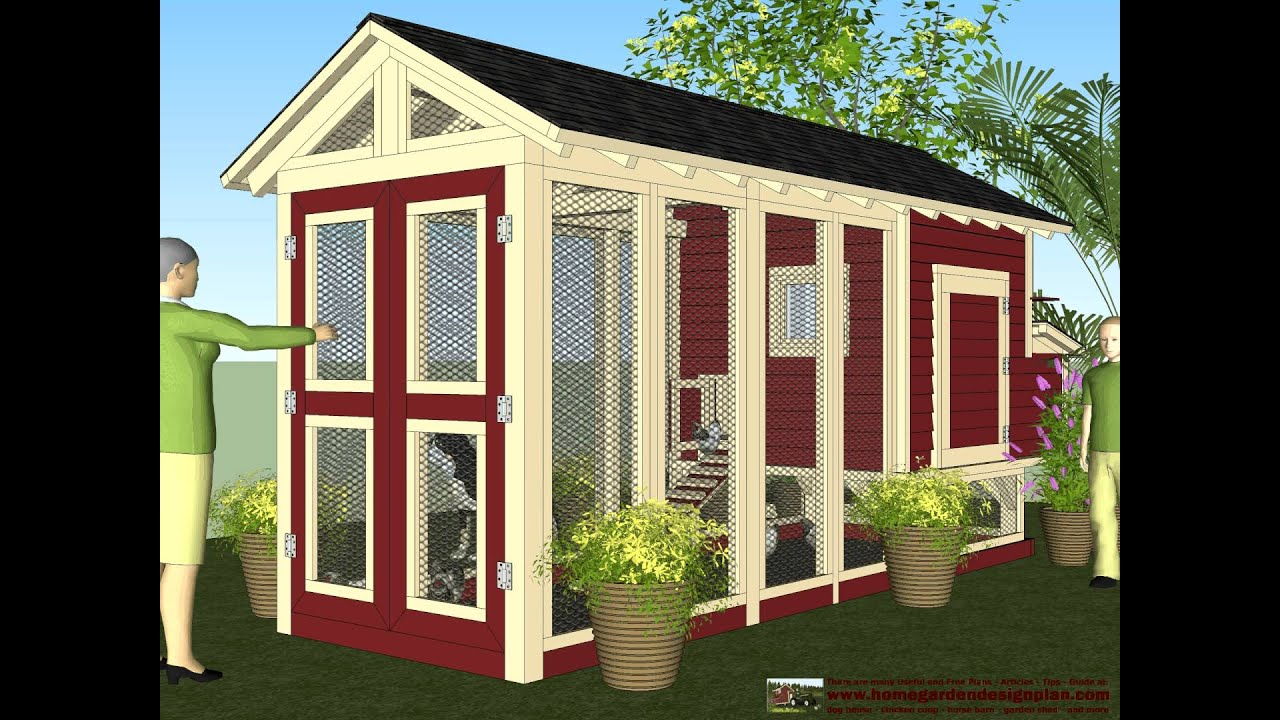 M102u part i free chicken coop plans how to build a for Free coop plans