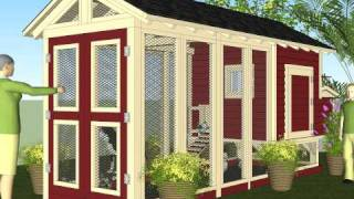 M102u (part I) - Free Chicken Coop Plans - How To Build A Chicken Coop - Backyard Chicken Coop Plans