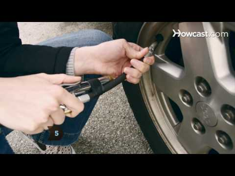 How to Inflate Car Tires