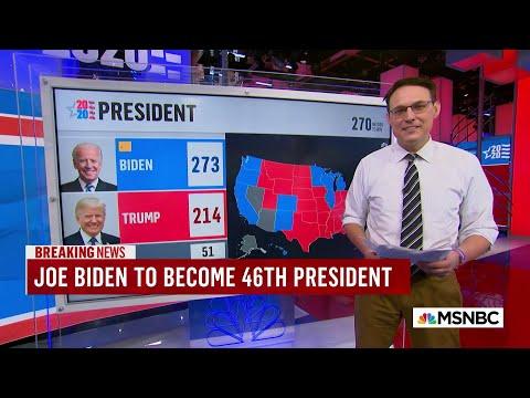 Kornacki Explains How Joe Biden Won Pennsylvania | MSNBC