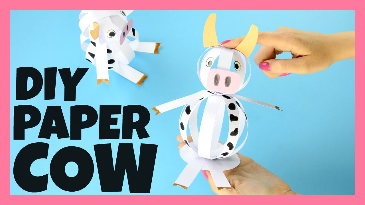Cow Craft Ideas For Preschoolers