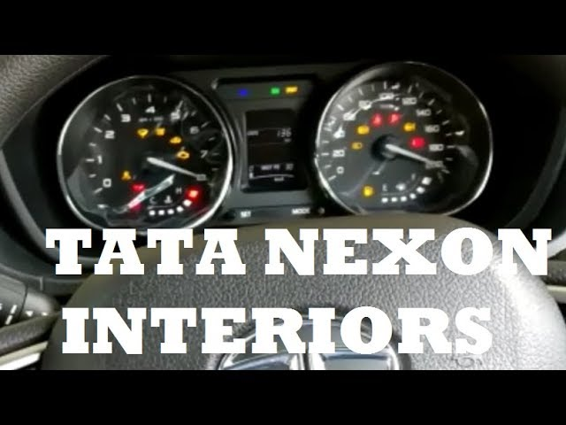 TATA NEXON XZ+ Interiors video by owner