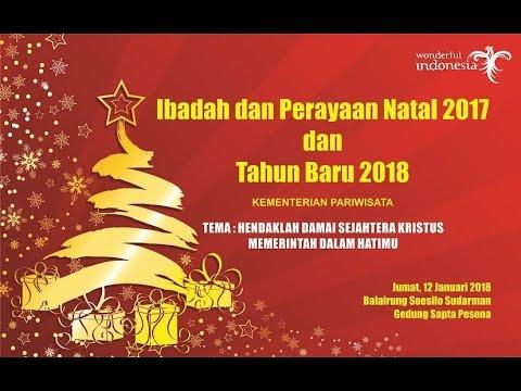 tema natal 2018 LIVE] PERAYAAN NATAL 2017 dan TAHUN BARU 2018 KEMENTERIAN  tema natal 2018