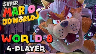 Super Mario 3D World - World 8 (4-Player)