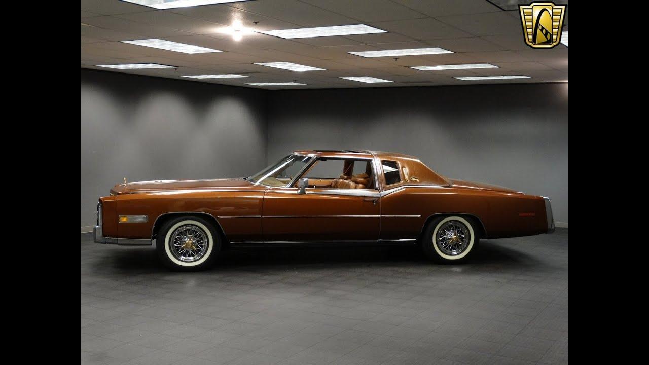 1978 Cadillac Eldorado Biarritz - YouTube