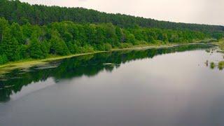 Очень красивая природа Окский басейн в 4К