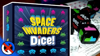 Space Invaders Dice Game | Space Combat on your Tabletop? | GenXGrownUp