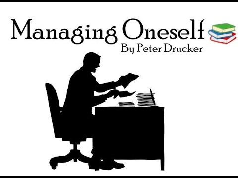 DRUCKER ONESELF BY PETER MANAGING