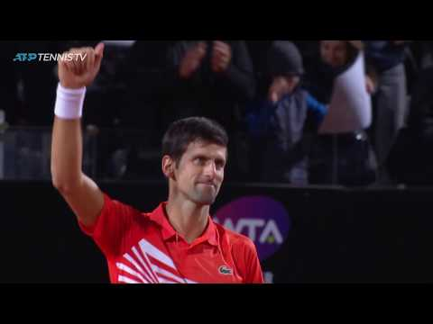 Djokovic vs Del Potro: Incredible Shots & Moments | Rome 2019 Quarter-Final