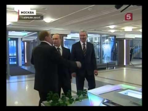 Смотреть КВН Масляков Путин Собянин онлайн