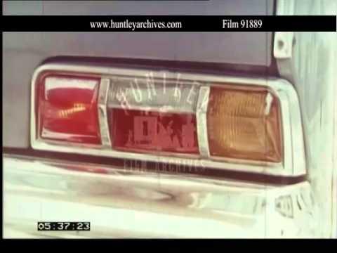 Preparing car before long journey.  Archive film 91889