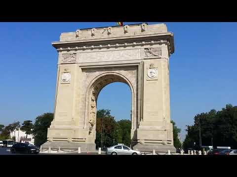 Bucuresti 360° VIEW - Arcul de Triumf / Bucharest 360° VIEW - Arch of Triumph