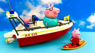 ☺ Swinka Peppa na statku ☺ Bajka po Polsku dla dzieci