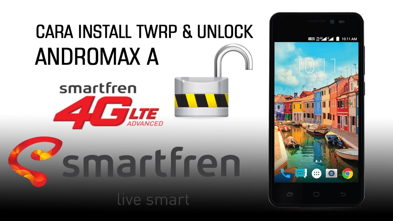 Cara Install Twrp Dan Unlock Gsm 4g Andromax A Youtube