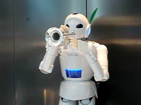 El robot musical de Toyota