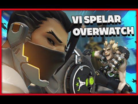 Vi Spelar Overwatch - Hanzo & Junkrat Placement Match Overwatch på Svenska Gameplay