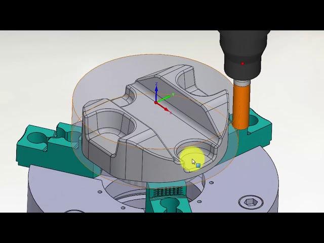 SolidCAM 2020 – Benutzerdefinierter max. Eingriffswinkel für Step up in iMachining 3D