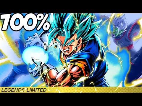 BEST UNIT IN THE GAME!! LEGENDARY FINISH VEGITO BLUE 700% SHOWCASE! | Dragon Ball Legends PvP