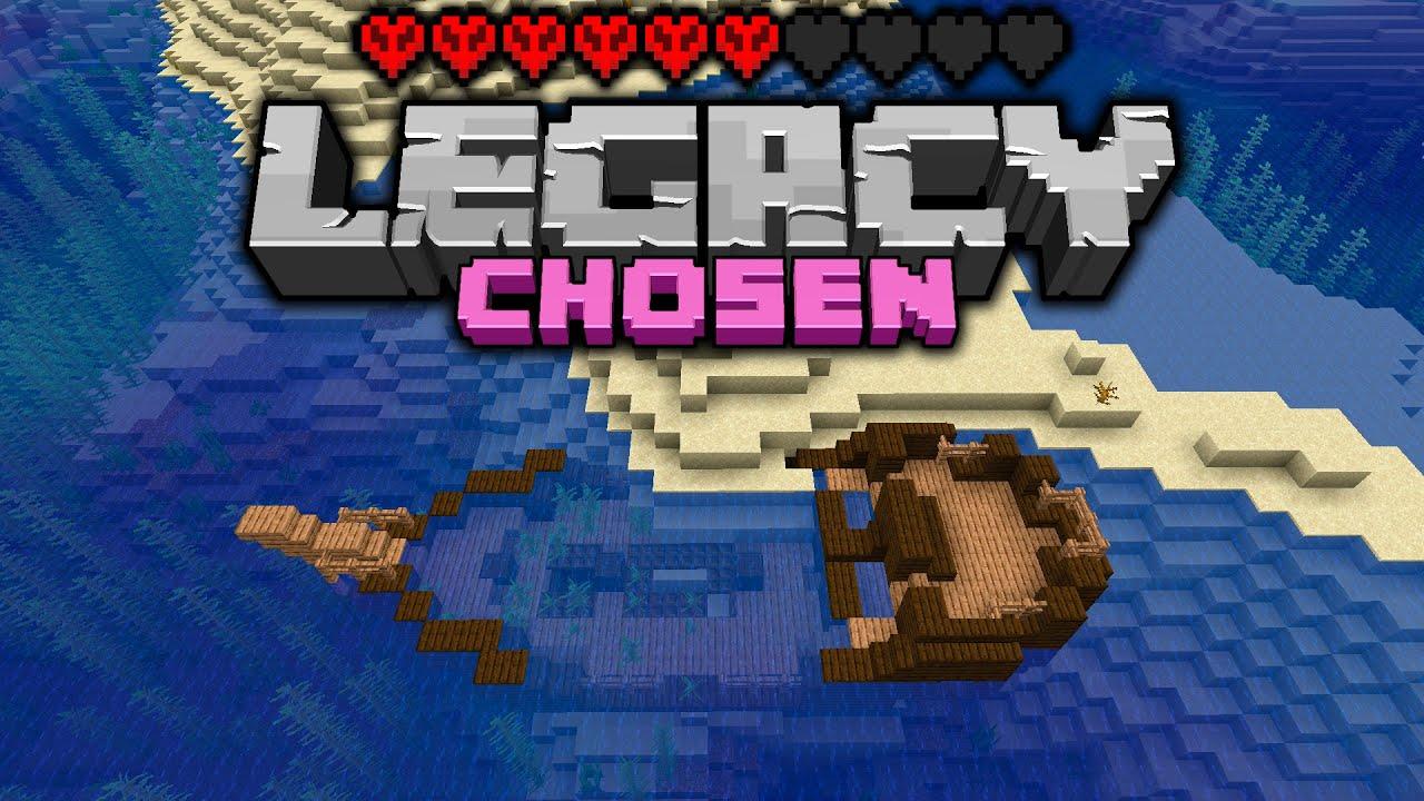 GO GO GO!!! Legacy Chosen Challenge - Day 4 [Minecraft 1.16 Multiplayer]