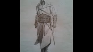 Draw Step by Step Altair ( Assassin