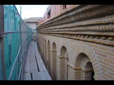 Rehabilitacion fachada piedra y ladrillo imitado rustico - Fachadas ladrillo rustico ...