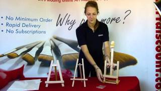Art Discount - Display Easels (gwent, Cheshire & Dorset)
