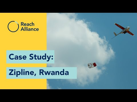 Reach Alliance Case Study: How can drones help deliver medical supplies in Rwanda?