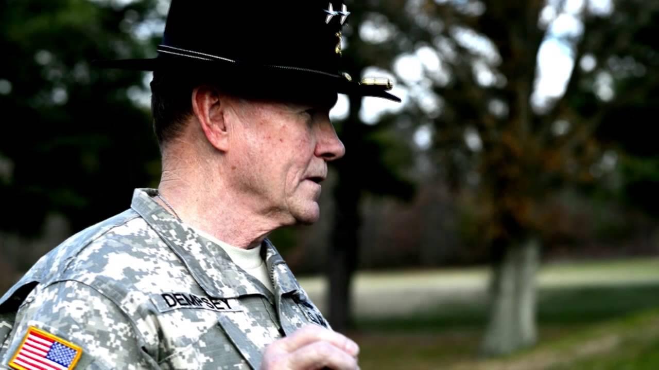 Gen. Dempsey's 2014 Army-Navy Game Spirit Video - YouTube