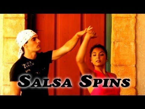 how to do salsa dance turns