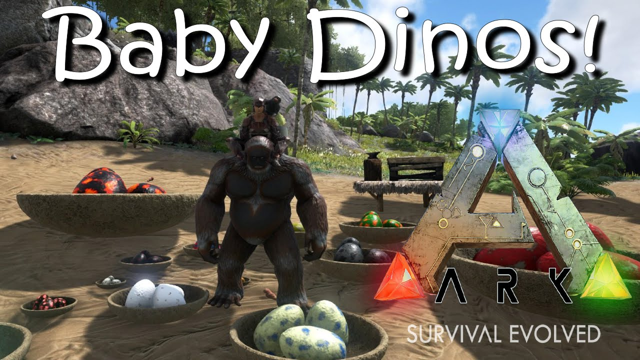 Ark survival evolved baby dinos mod gigantopithecus ark survival evolved baby dinos mod gigantopithecus mesopithecus youtube malvernweather Image collections