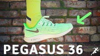 Nike Pegasus 36 First Impression | Maiden Voyage Run