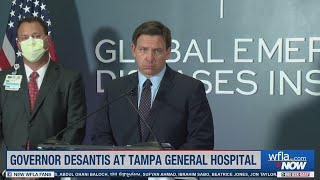 "DeSantis says it's Florida's ""COVID season"""