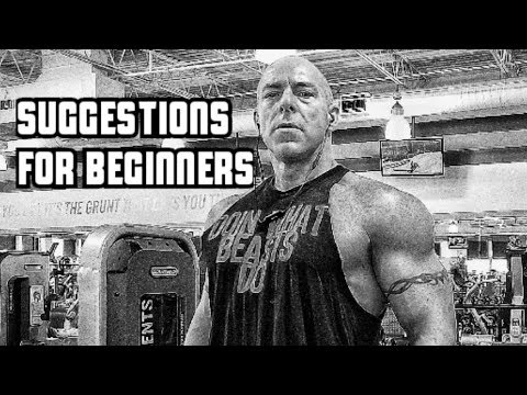 Suggestions For Lifting Beginners