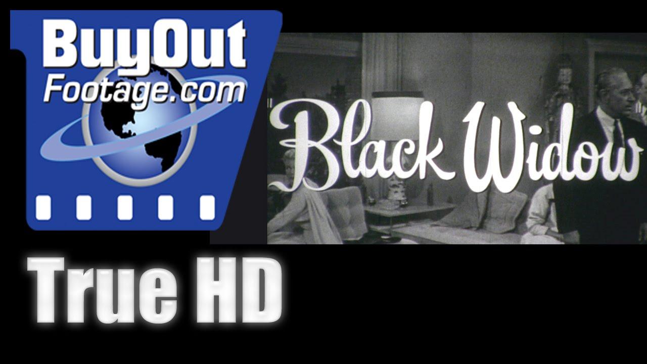 Black Widow - 1954 HD Film Trailer