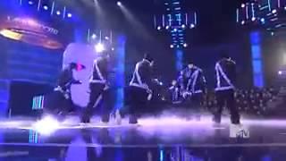 Самый классный танец Jabbawokeez  DOLGI SHOW клип ас