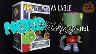 Nerd Therapy Custom Zombie Bart Pop! Now Available