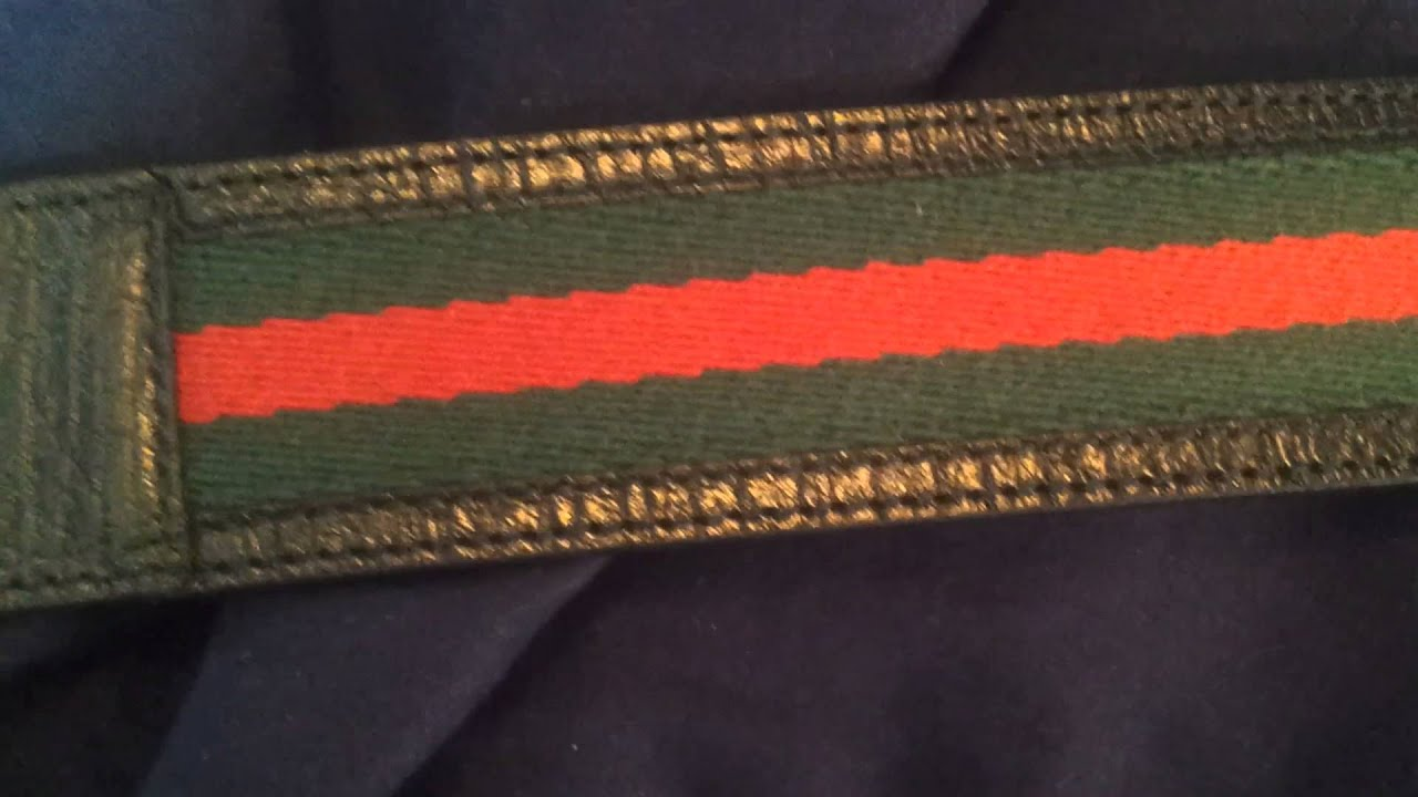 72299baef39 100% Authentic Gucci Belt Unboxing - YouTube