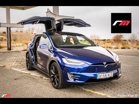 tesla model x 100d prueba youtube. Black Bedroom Furniture Sets. Home Design Ideas