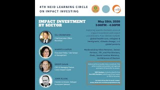 NEID Impact Investing Series: Impact Investment by Sector