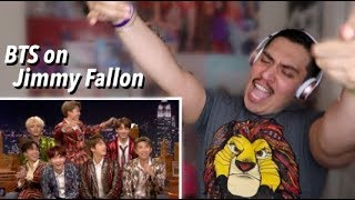 BTS Jimmy Fallon Interview REACTION