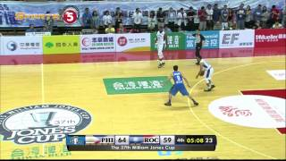 JONES CUP: Philippines vs. Chinese Taipei A - Q4